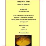 Serata polenta venerdì 27 ottobre