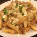 Poutine - chips, gravy and cheese