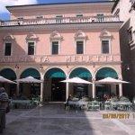 Il bellissimo Caffe' storico Meletti.
