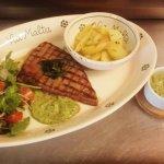 Bistecca al salsa verde