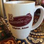 Real diner mugs!