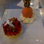 tarte aux fraises & glace