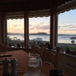 Wonderful view of the sound at all meals.