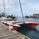 El Tigre our beautiful Catamaran