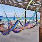 relax at the hammocks area ;)