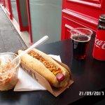 Foto van Kraft Hot Dogs