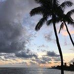 Beautiful sunset from Beach House, Kauai