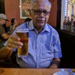 Tasting the popular Scrimshaw Beer