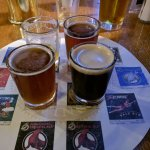 Beer tasting ritual at the Tap Room North Coast Brewing Company