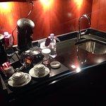 Une kitchenette bien agréable !