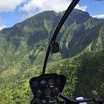 Birds eye view of Kauai