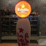Spanish beer ontap