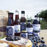 Monavale Blueberries products from the Orchard Shop
