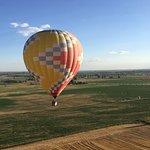 Companion balloon in flight