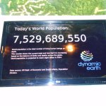 a real time count of the earth's population.