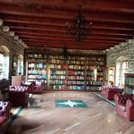 Room with the library