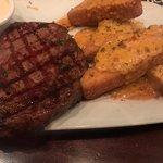 New Orleans Ribeye & Potato Cakes