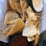 The Nachos were very good and the Salsas were delicious!! Perfectly spicy!