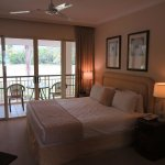 Main Bedroom, lovely balcony overlooking the golf course.