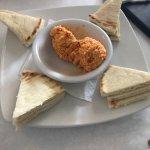 Pimento Cheese with Pita Bread