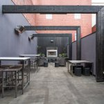 Our function room, Vue, has it's own private outdoor space