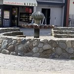 Nice Fountains and Local Shops