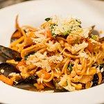 Seafood Marinara featuring local, fresh seafood