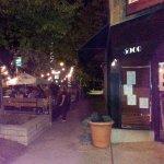 outdoor seating at Cellars Bar & Grill