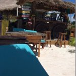 Bar del lado de la playa