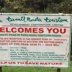 Dodabetta peak- Information board at the Main point