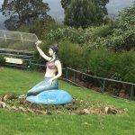 Statue near th epeak