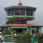 Dodabetta peak- viewing gallery crowded and poor vision
