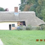 This cottage has just had a new roof costing £25,000 its set in two time periods