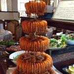 Seafood buffet - Prawn Fountain