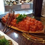 Seafood buffet - smoked salmon