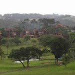 Golf course and villas