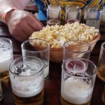 Beer Tasting at the Maze with Free Popcorn