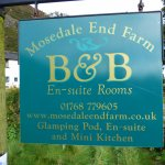 Mosedale End Farm B&B and Glamping Pod