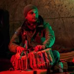 Tabla Player - New Orleans Cafe