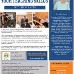 It's time to advance your Yoga teaching career!