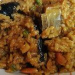 Arroz de menú - Restaurant La Canal (Olot--Girona)