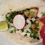 Shrimp street taco
