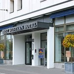 Entrance Best Western Leipzig