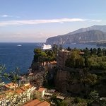 view from Metropole Hotel Sorrento