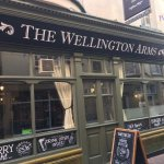 The Wellington Arms, a traditional pub serving great food and drinks.