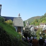 vue du village du tertre de la chapelle