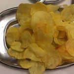 Home made potatoe chips