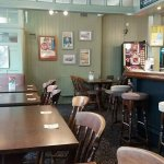 A very welcoming traditional pub with a light and airy feel.