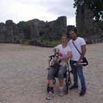 Personas con distintas discapacidades pueden visitar Panamá La Vieja.