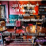 Revolution Craft Beer & Whiskey Bar, Waterford